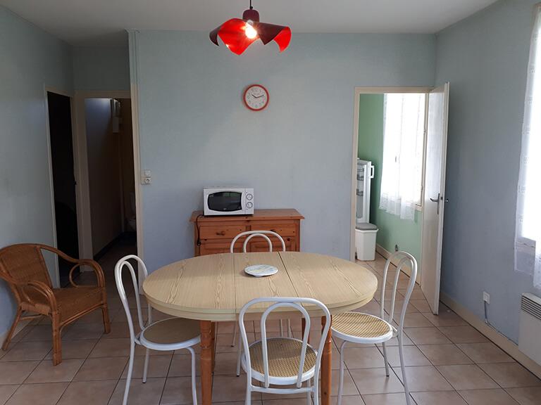 Village vacances Gardes-le-Pontaroux - villas, salle à manger
